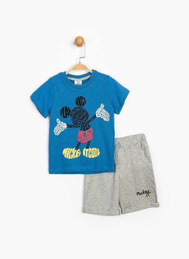 Mickey Mouse 2 li Takım Saks